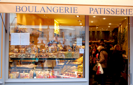 Patisseriewindow