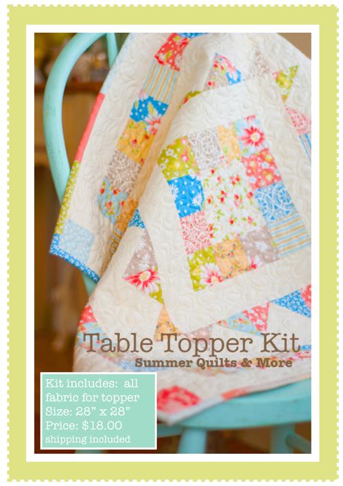 Topper kit
