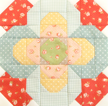 Fat Quarter Shop Designer Mystery BOM Strawberry Fields Block 5