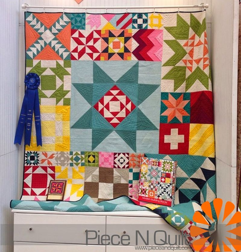 Modern building blocks quilted by natalia bonner of piece n quilt-1
