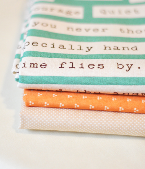 Aquawordsfabric