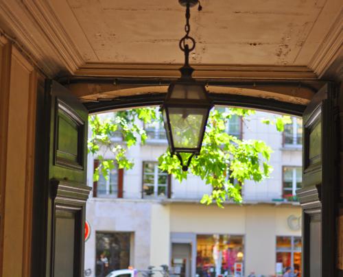 Lanterndoorway