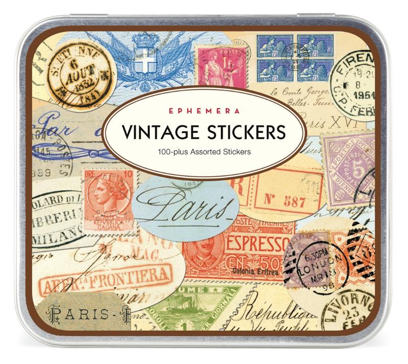 Sticker tin