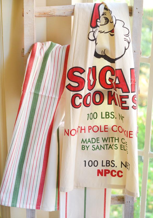 Santa towels 2