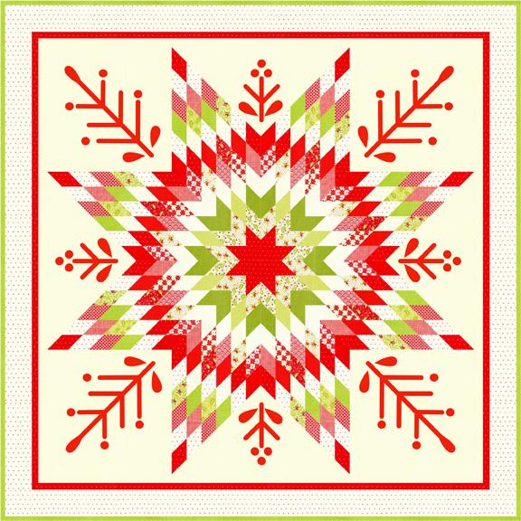 Yuletide Snowflakes