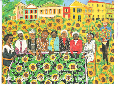 Watermark-faith-ringgold-sunflower-quilting-bee-at-arles1