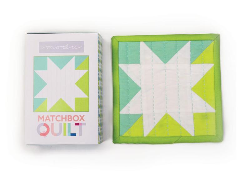 Mint green matchbox
