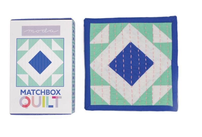 Aqua matchbox