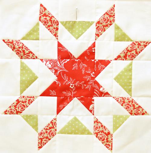 Christmasstarfishblock
